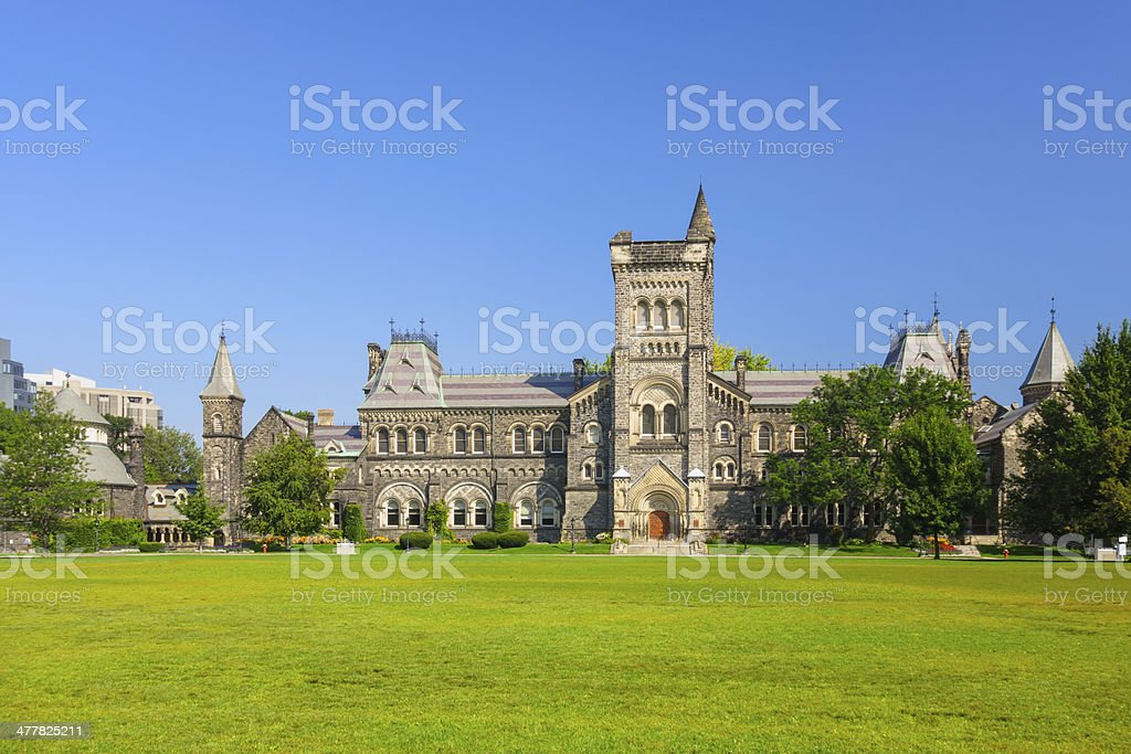 University of Toronto Campus stock photo