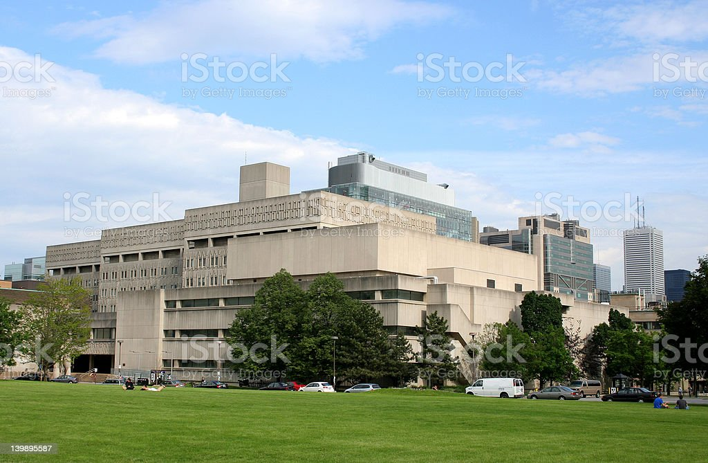 University of Toronto Medical School Building stock photo