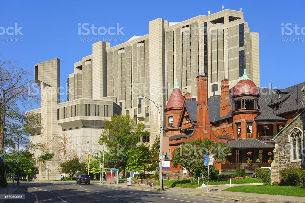 University of Toronto, Robarts Library stock photo