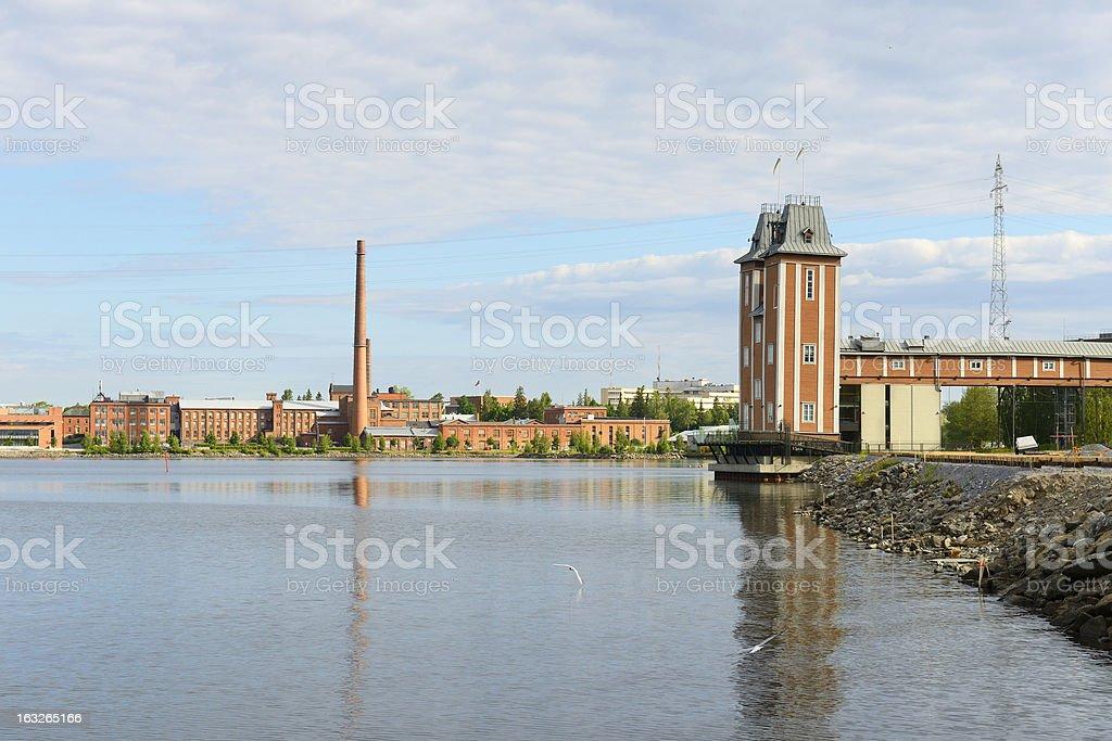 University of Vaasa. Finland stock photo