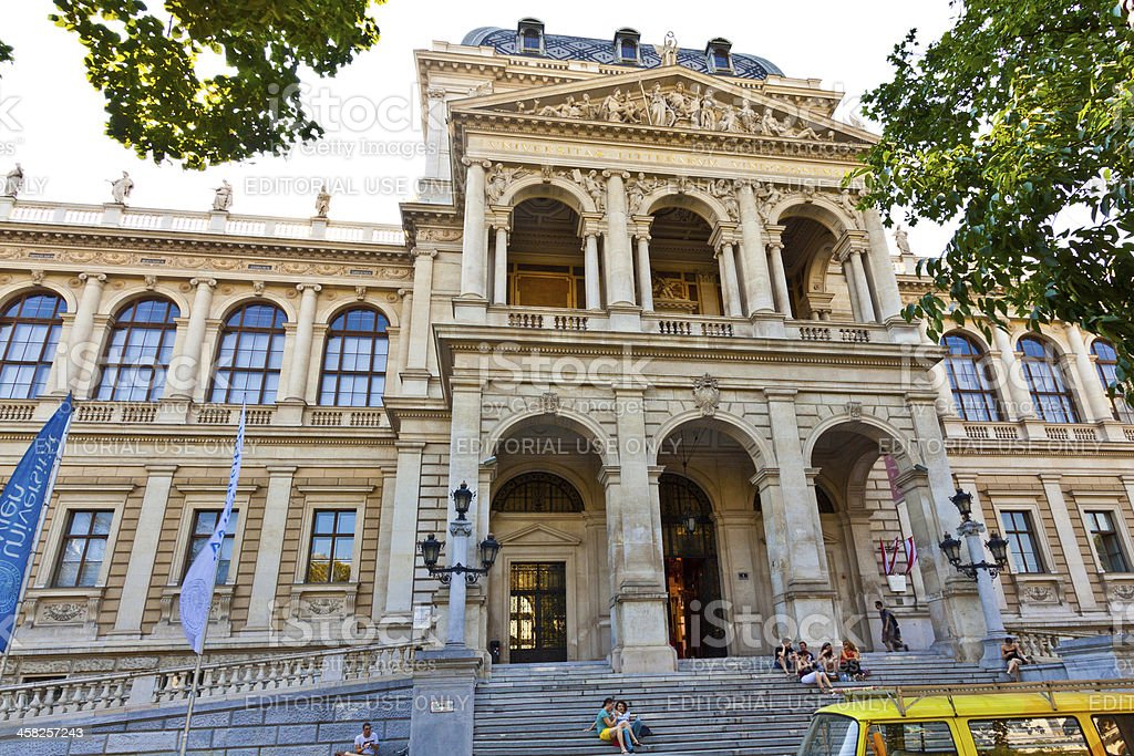 University of Vienna. royalty-free stock photo