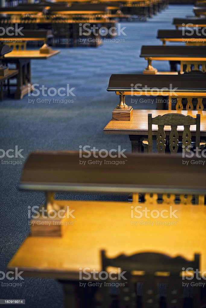 University of Washington Suzzallo Library stock photo