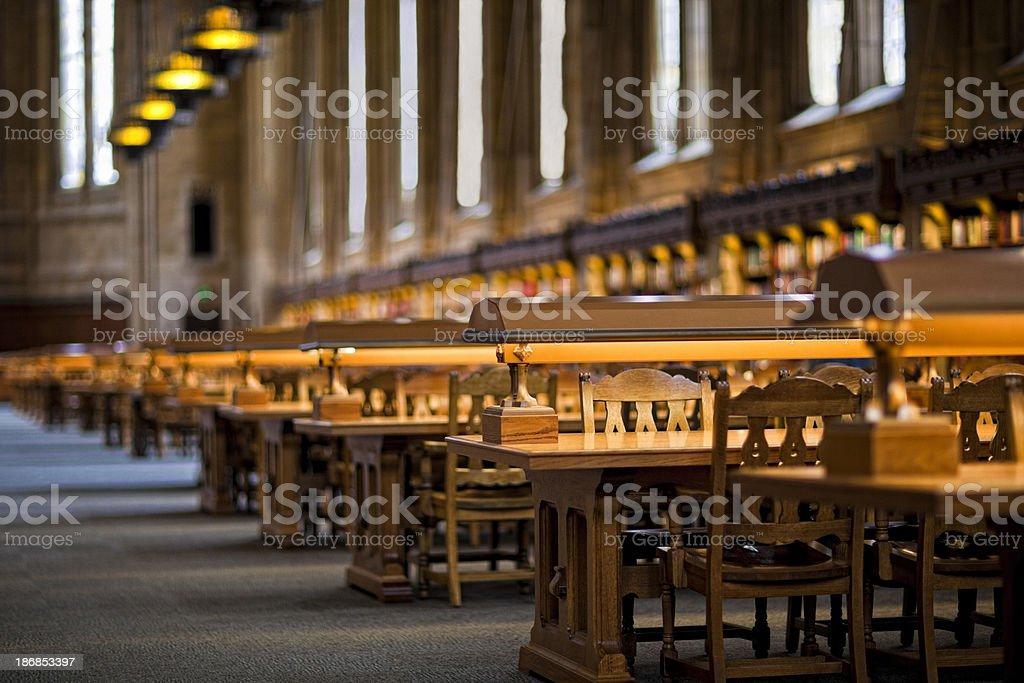 University of Washington Suzzallo Library royalty-free stock photo