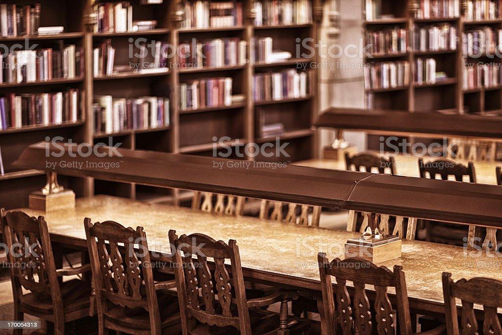 University of Washington Suzzallo Library Reading Room stock photo