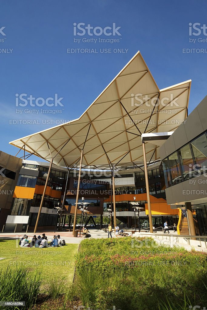University of Western Sydney - Campbelltown stock photo