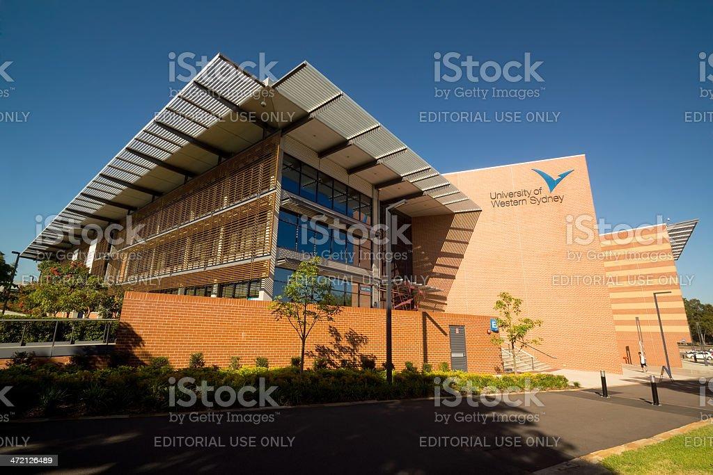 University of Western Sydney - Parramatta stock photo
