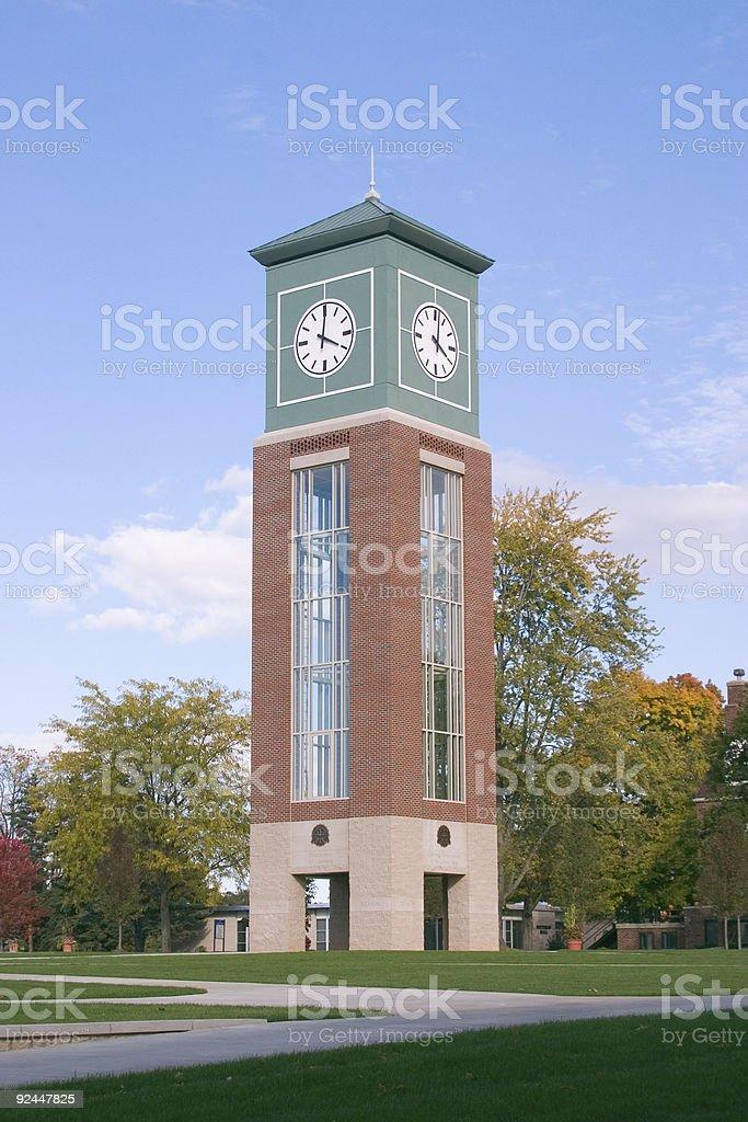University Tower royalty-free stock photo