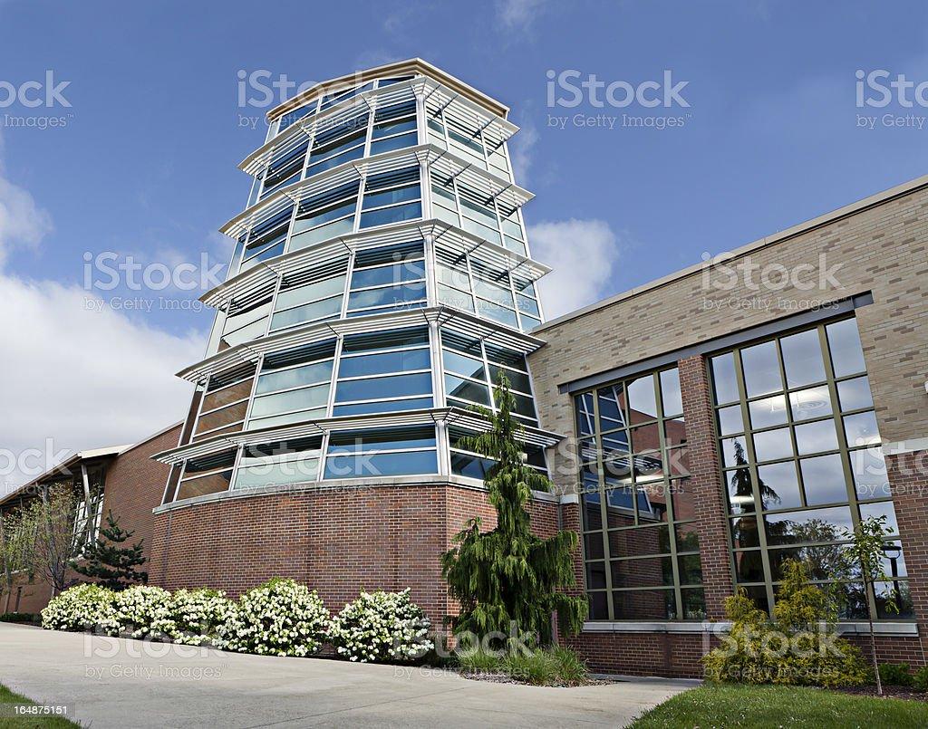 University, Youngstown stock photo