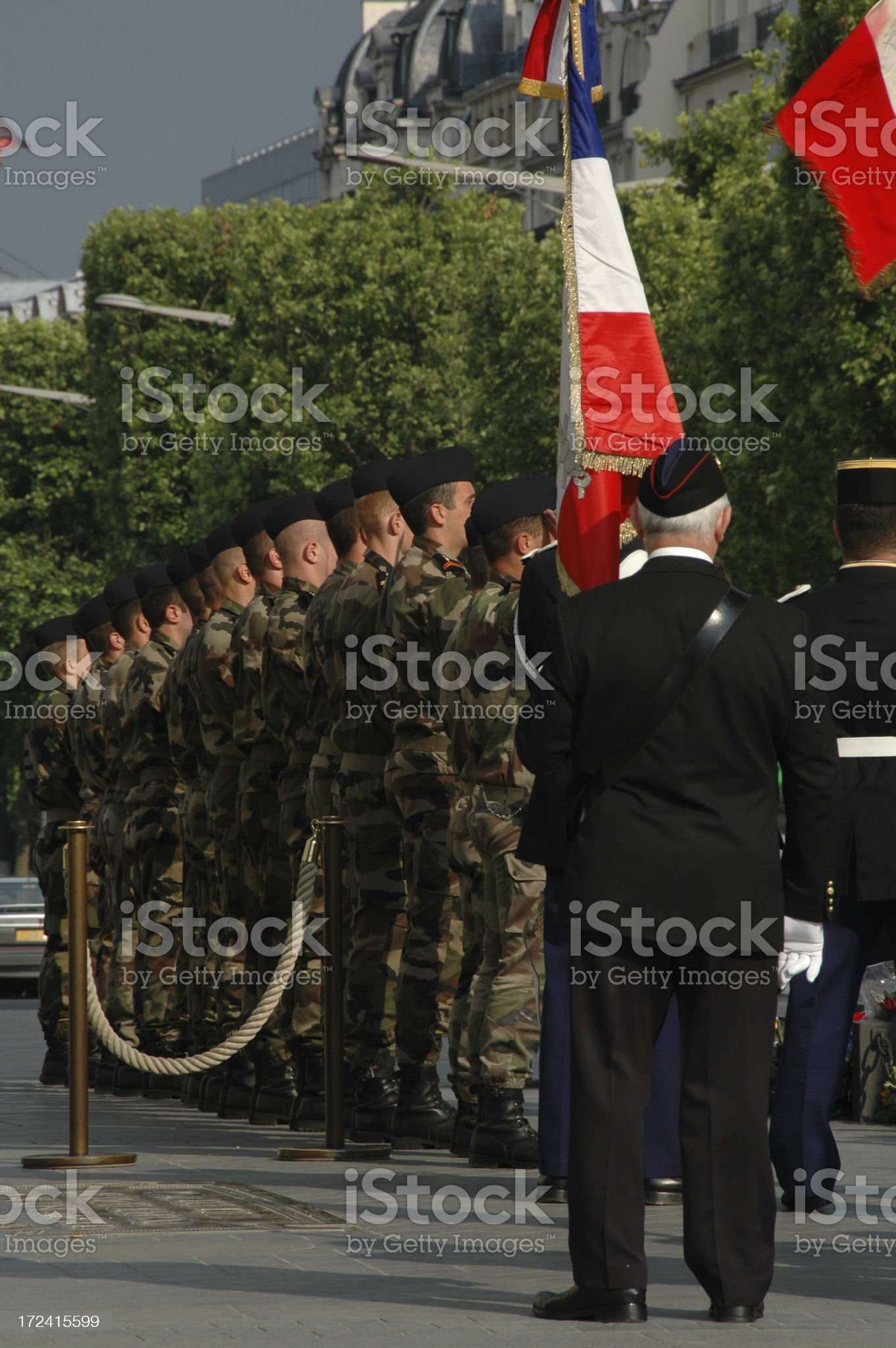 Soldat inconnu royalty-free stock photo