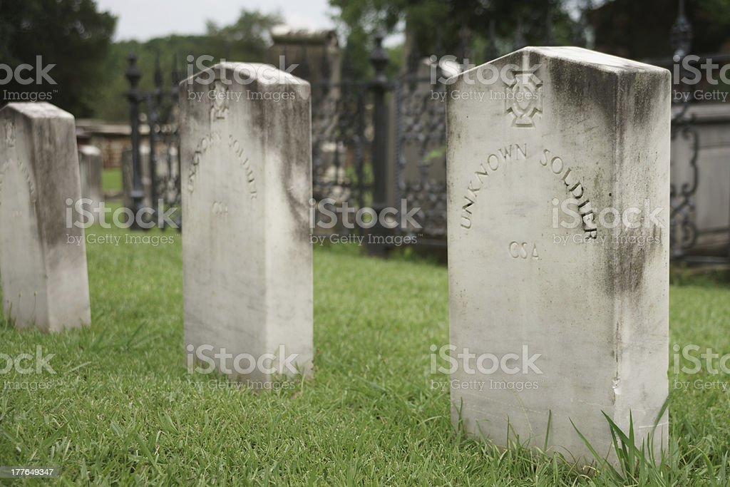 Unknown Soldier Tombstone stock photo