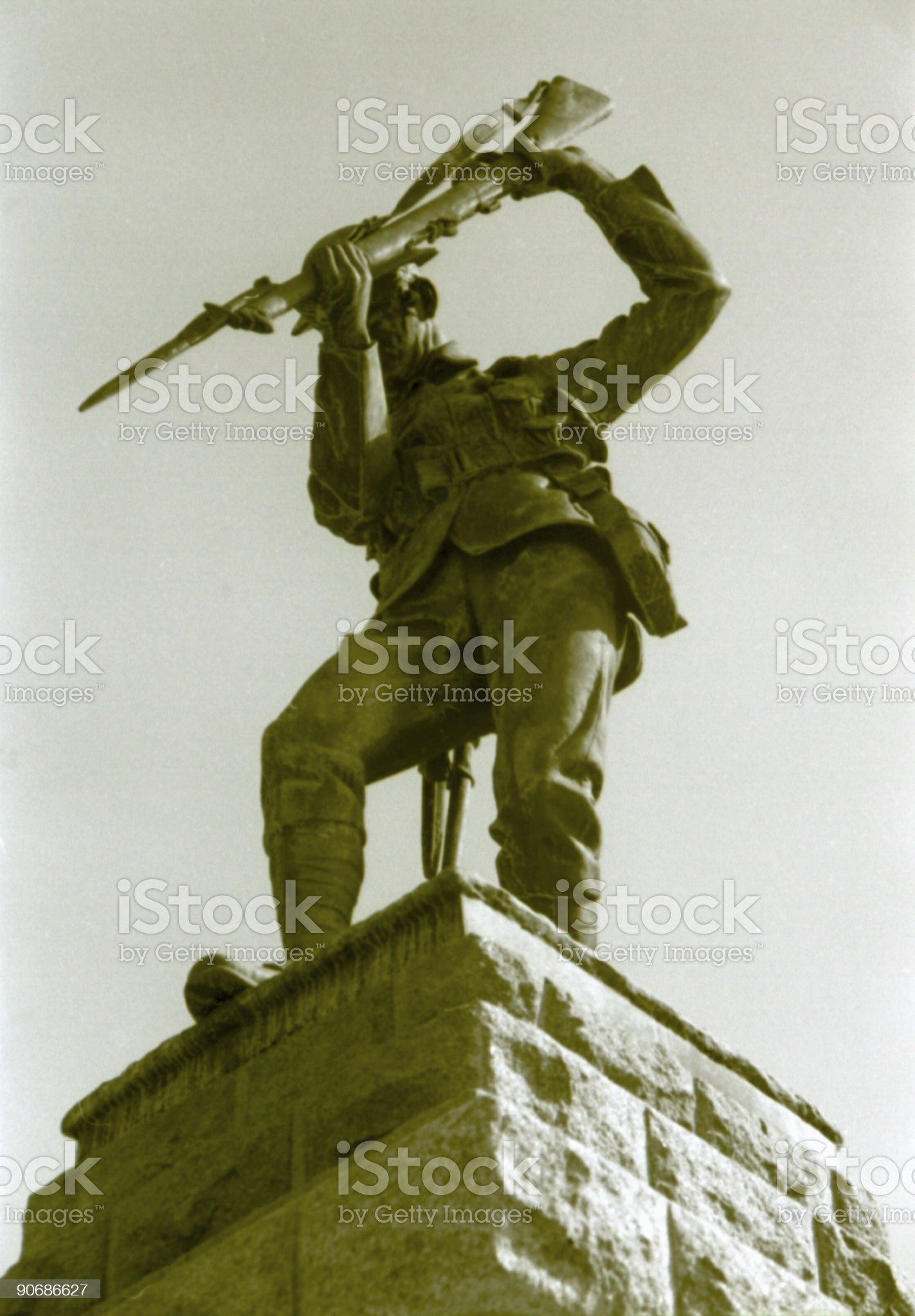 Unknown soldiers, monuments royalty-free stock photo