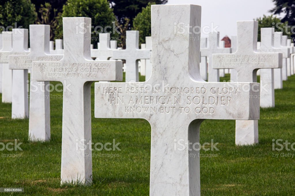 Unknown Soldiers - The Somme - France stock photo