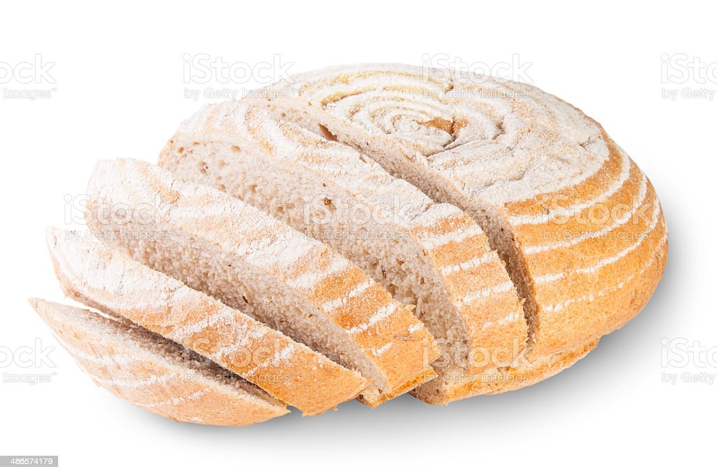 Unleavened Bread With Dill Seeds royalty-free stock photo