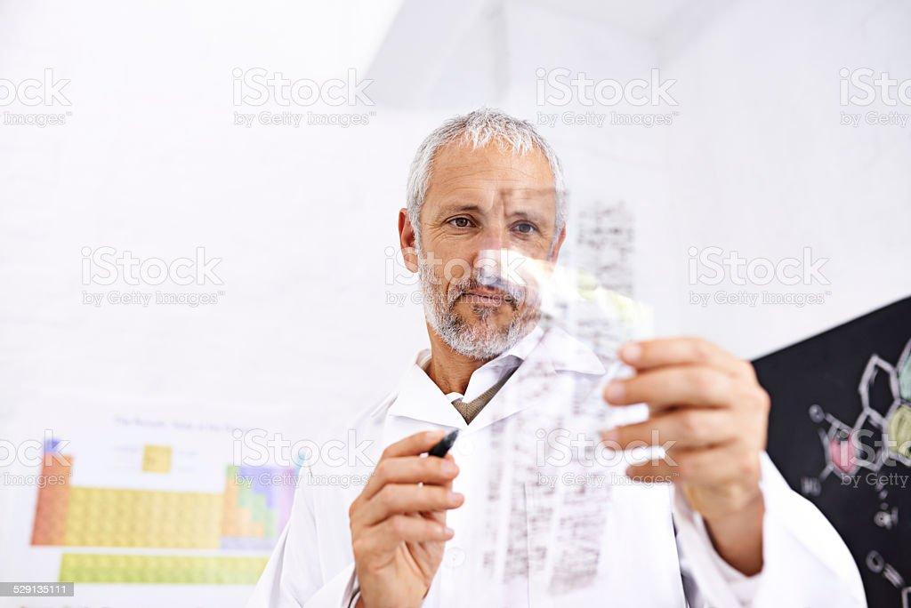 Unlocking DNA mysteries stock photo