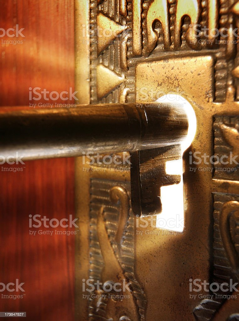 Unlocking the Mystery stock photo