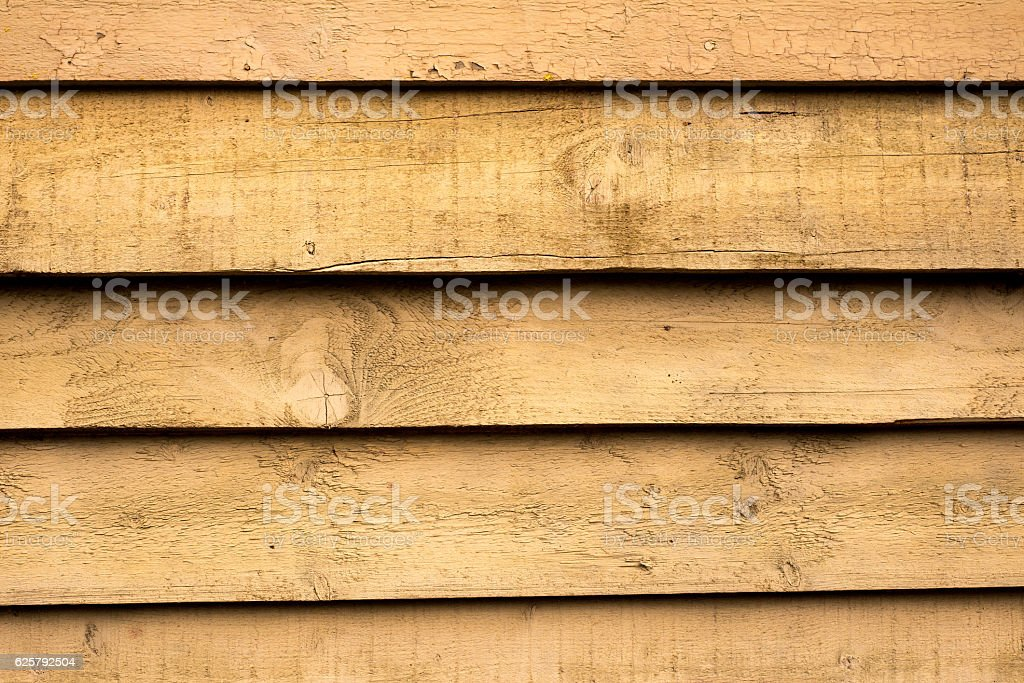Unpainted Wooden Louvers stock photo
