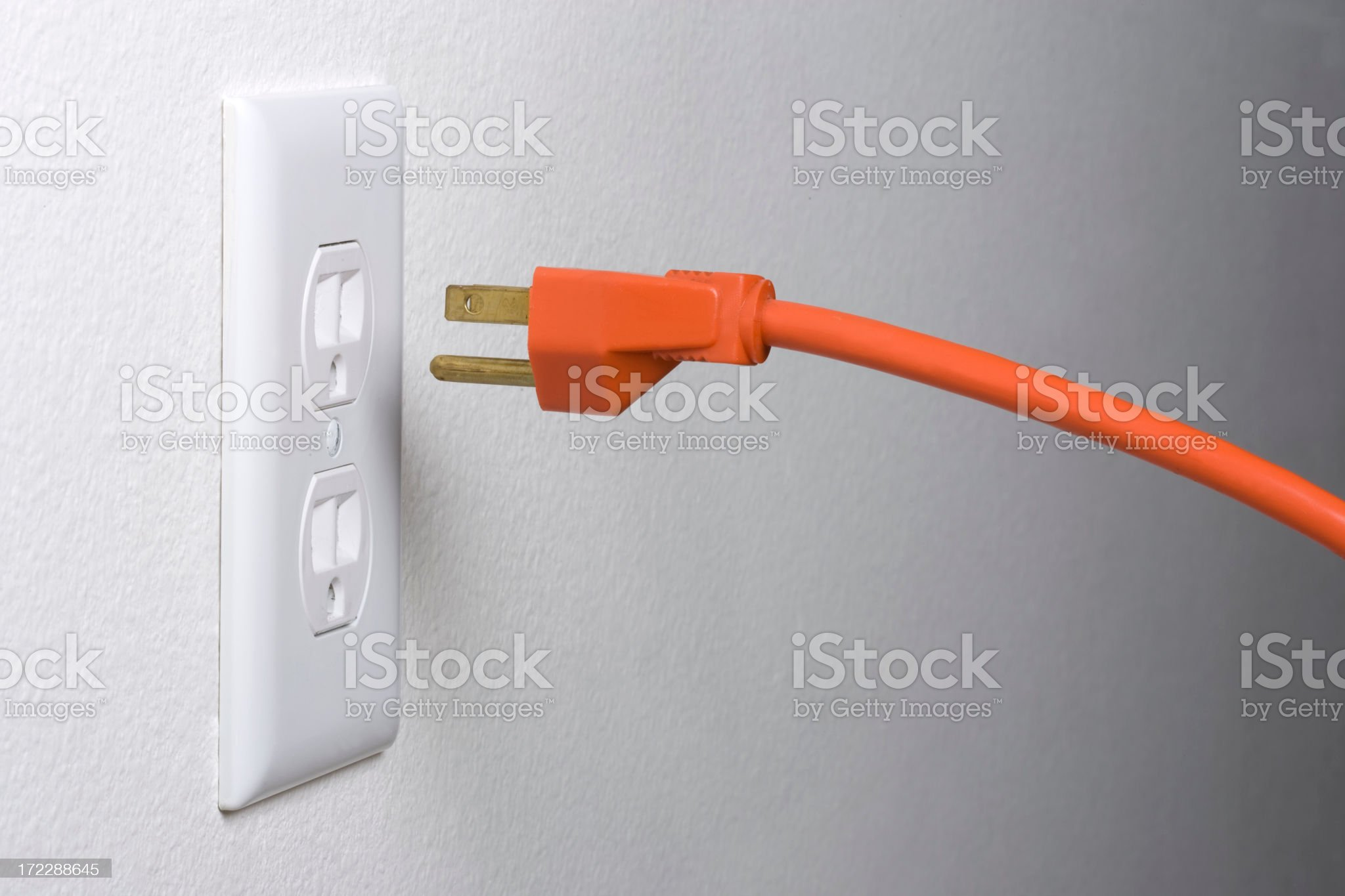 Unplug It royalty-free stock photo