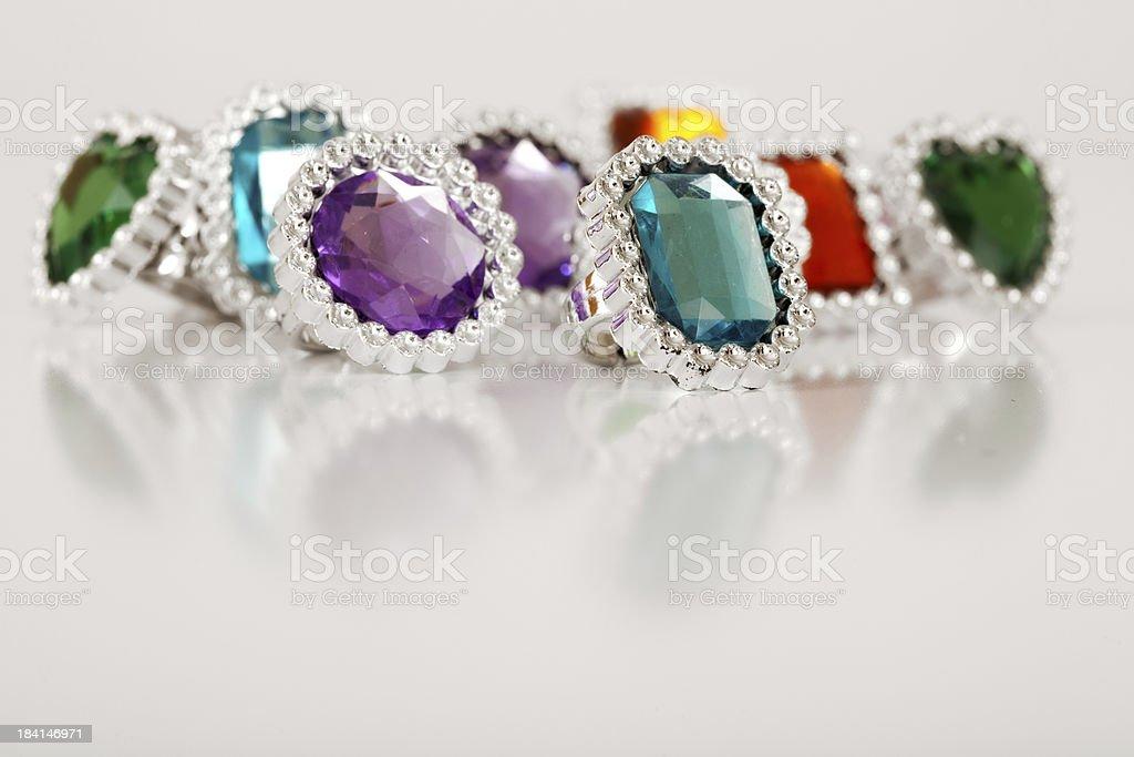 UnPrecious Gems stock photo