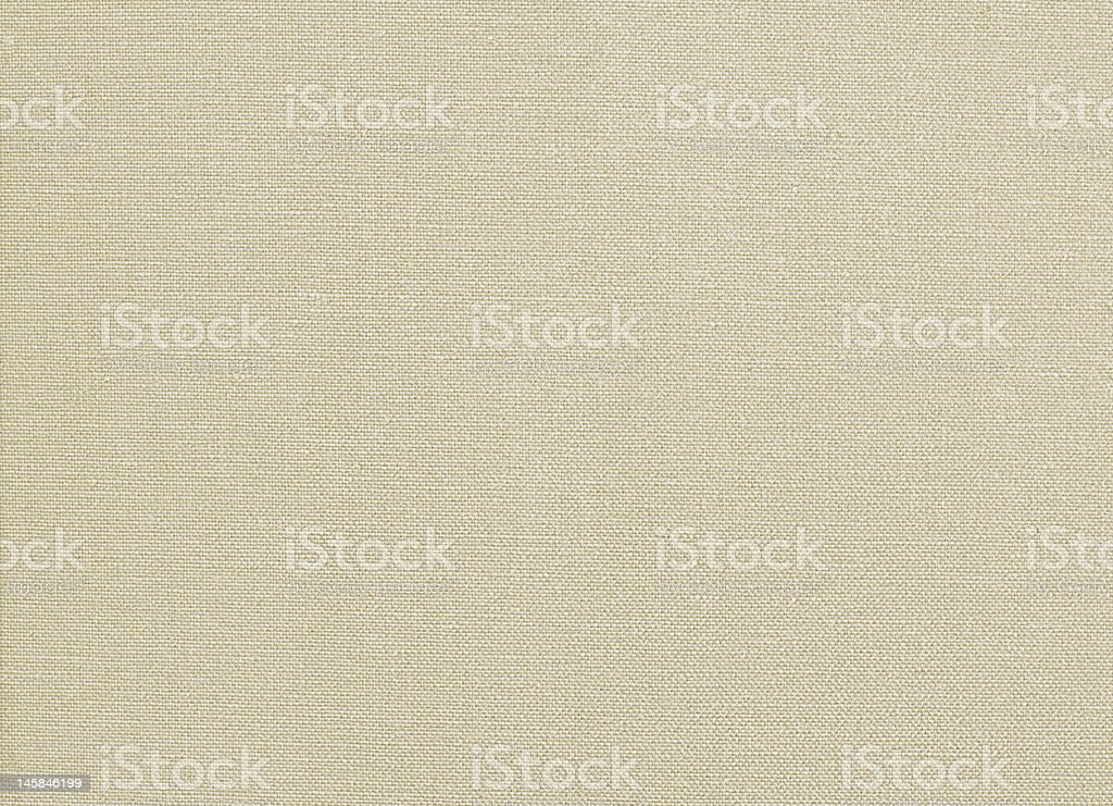 unprimed canvas XXL stock photo