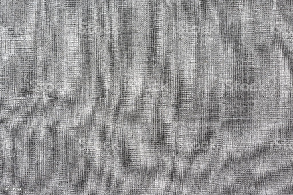 Unprimed linen canvas for painting stock photo