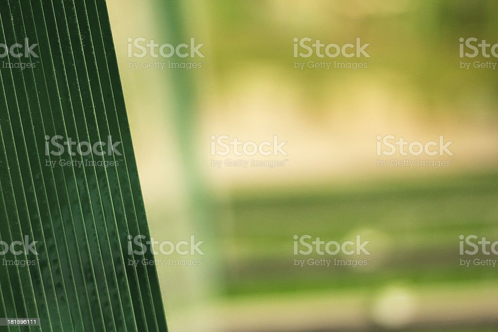 Unprocessed Glass in industrial building royalty-free stock photo