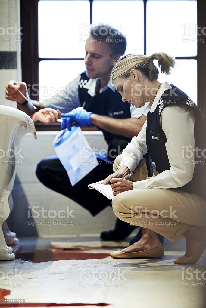 Unravelling the conundrum of homicide stock photo