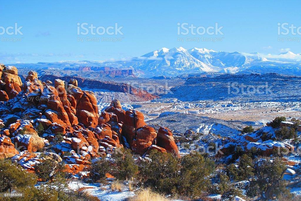 Unreal Landscape stock photo