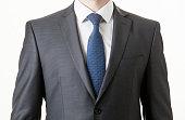 Unrecognizable businessman in a classical suit