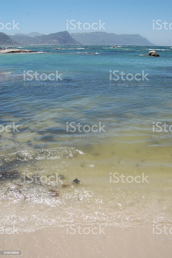 Unretouched Beach stock photo