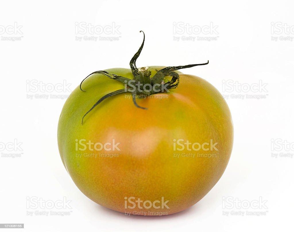 unripe tomato royalty-free stock photo