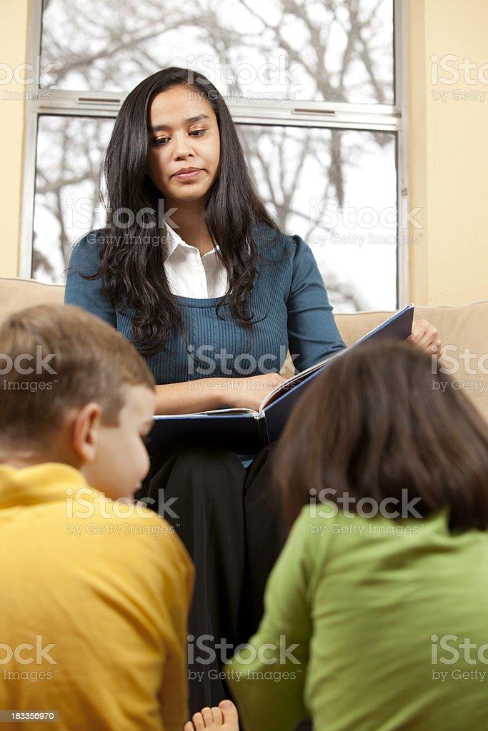 Unsatisfied Teacher royalty-free stock photo