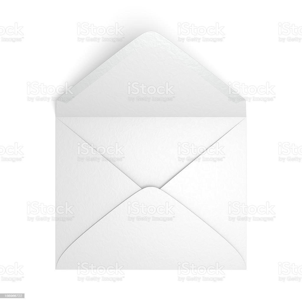 Unsealed Envelope stock photo