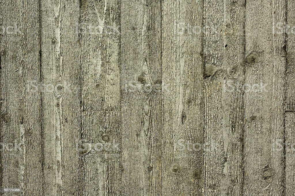 Unshaven wooden planks royalty-free stock photo