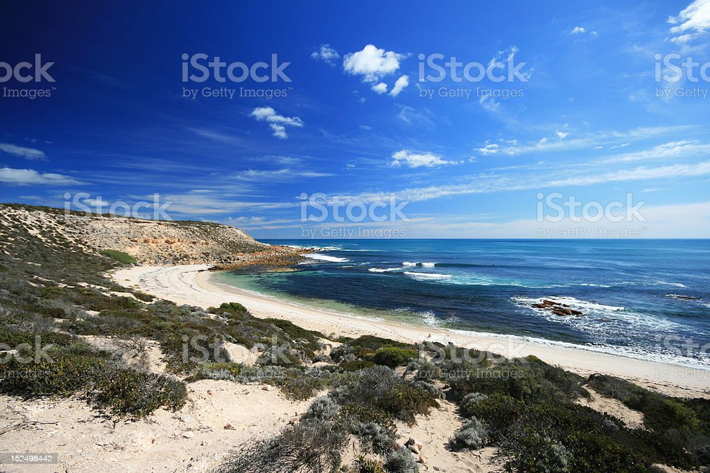 Unspoiled Coastline - Coffin Bay National Park, South Australia royalty-free stock photo