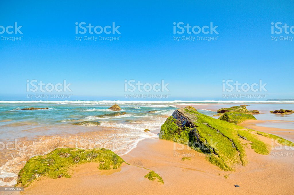 Unspoiled nature in Portugal stock photo