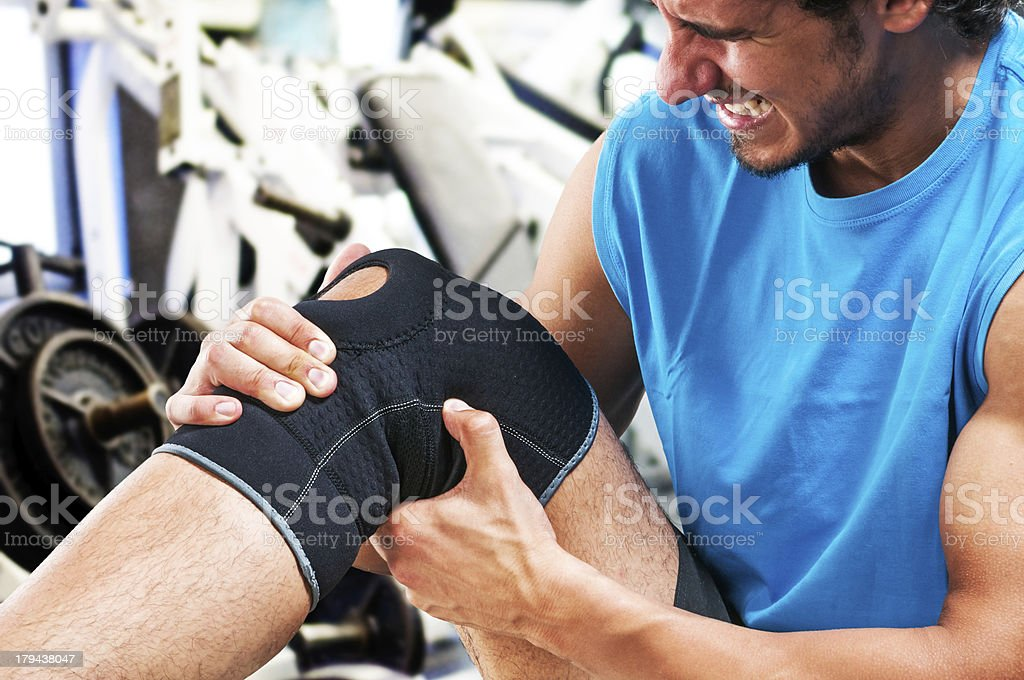 Unstopable pain stock photo