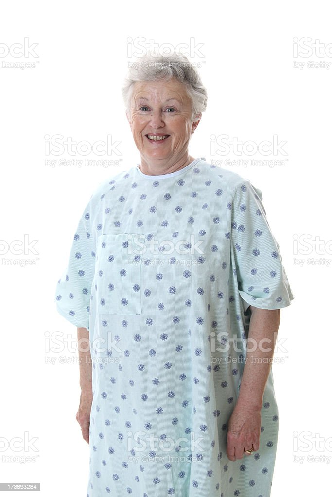 Unsure Patient royalty-free stock photo