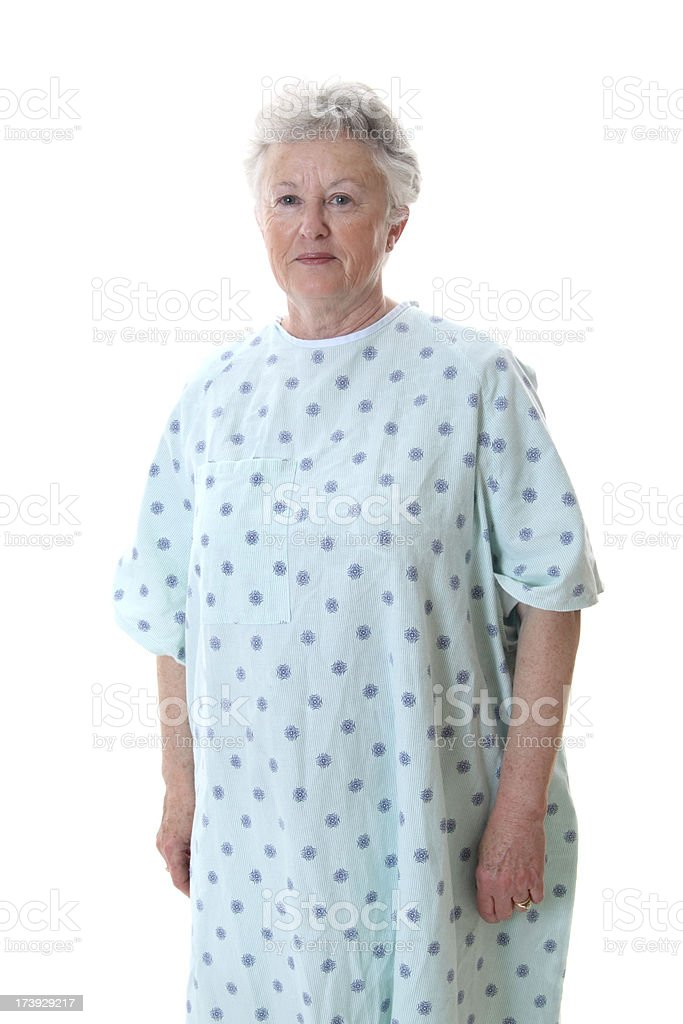 Unsure Patient stock photo
