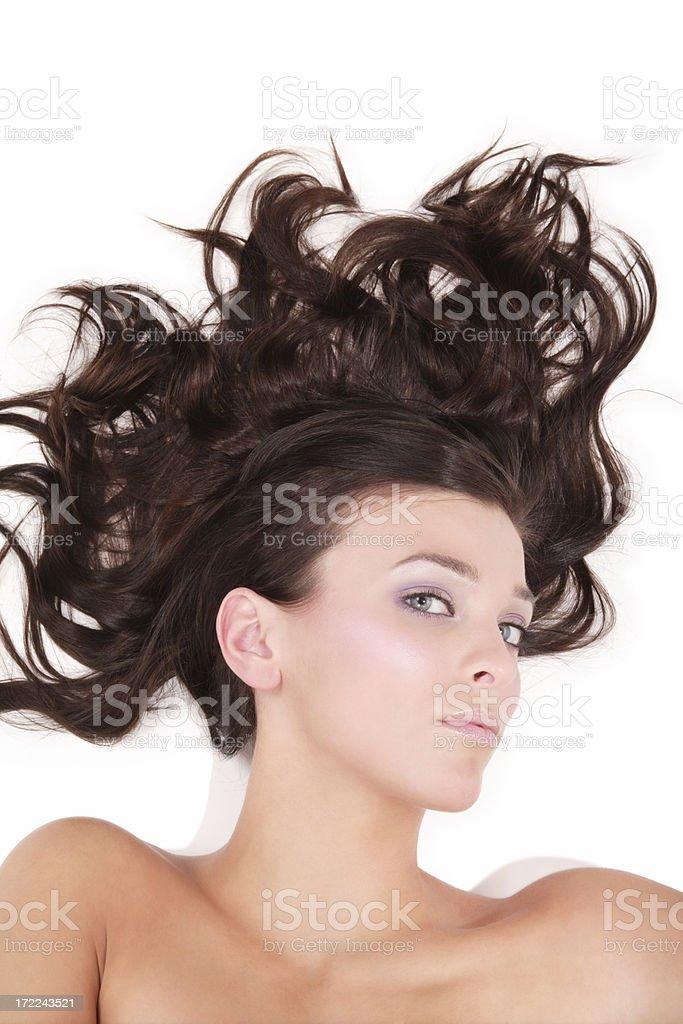 Untamed Beauty royalty-free stock photo