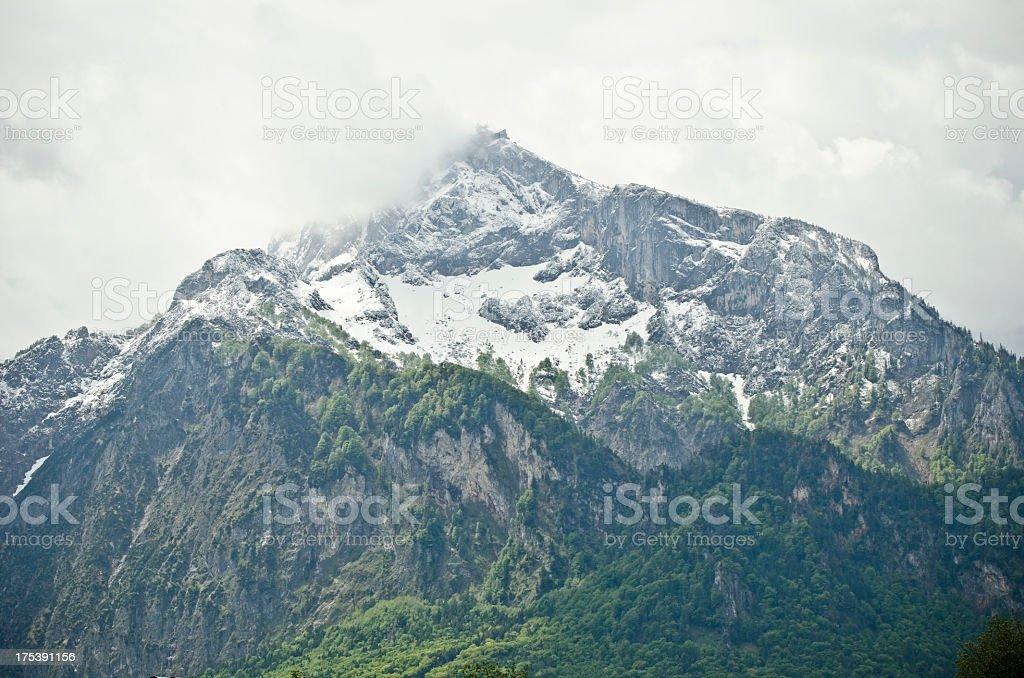 Untersberg stock photo