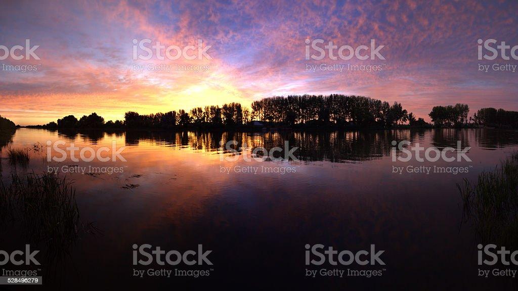 until sunrise stock photo
