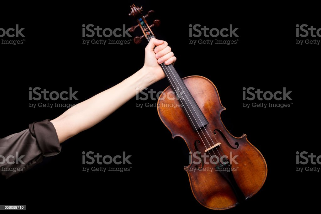 until the victory my brave violin stock photo