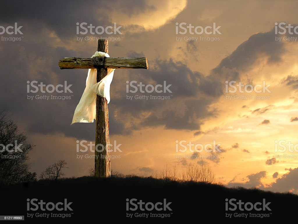 Unto Us A Son Is Given stock photo