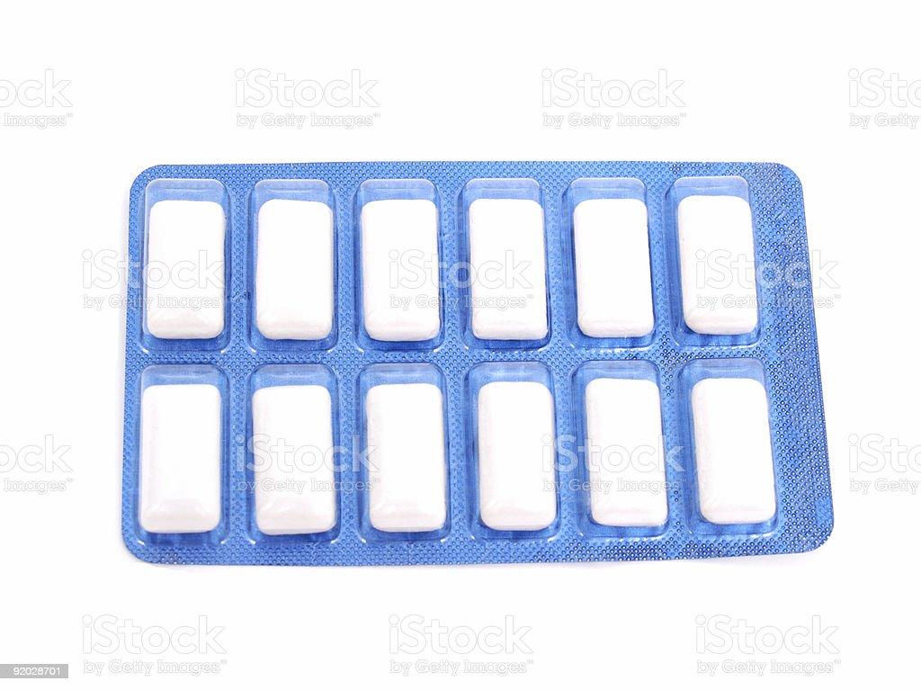 Unused Gum Pack royalty-free stock photo