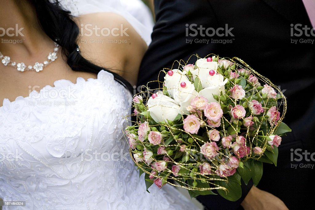 unusual bouquet royalty-free stock photo