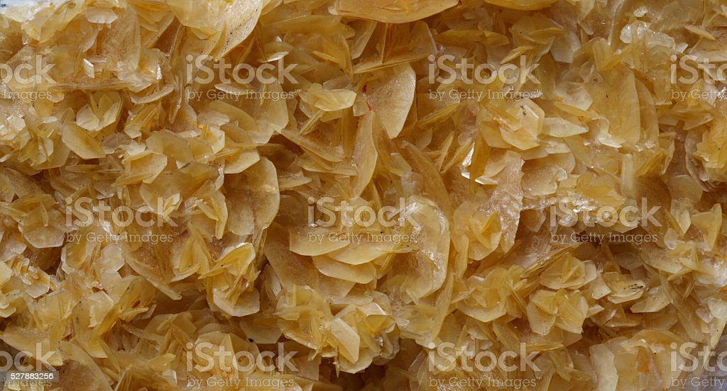 unusual formation of calcite crystals stock photo