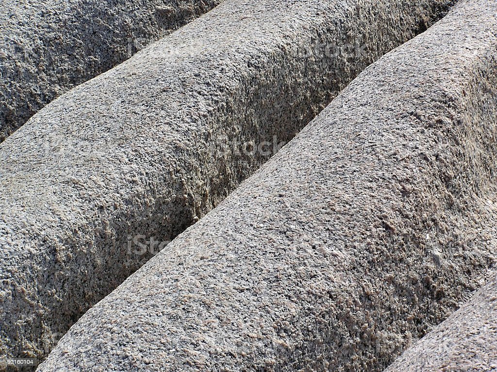 Unusual rock formation abstract royalty-free stock photo