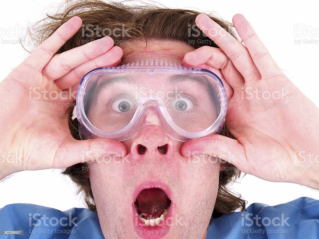 Unusual Science/Inventor royalty-free stock photo