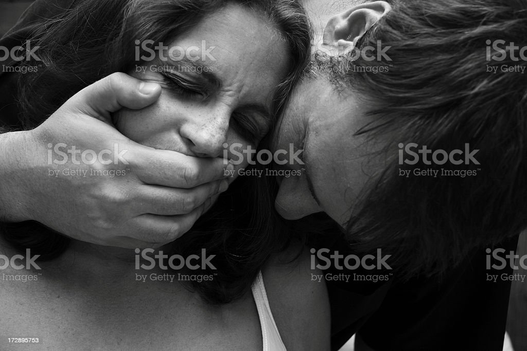 unwanted affection stock photo