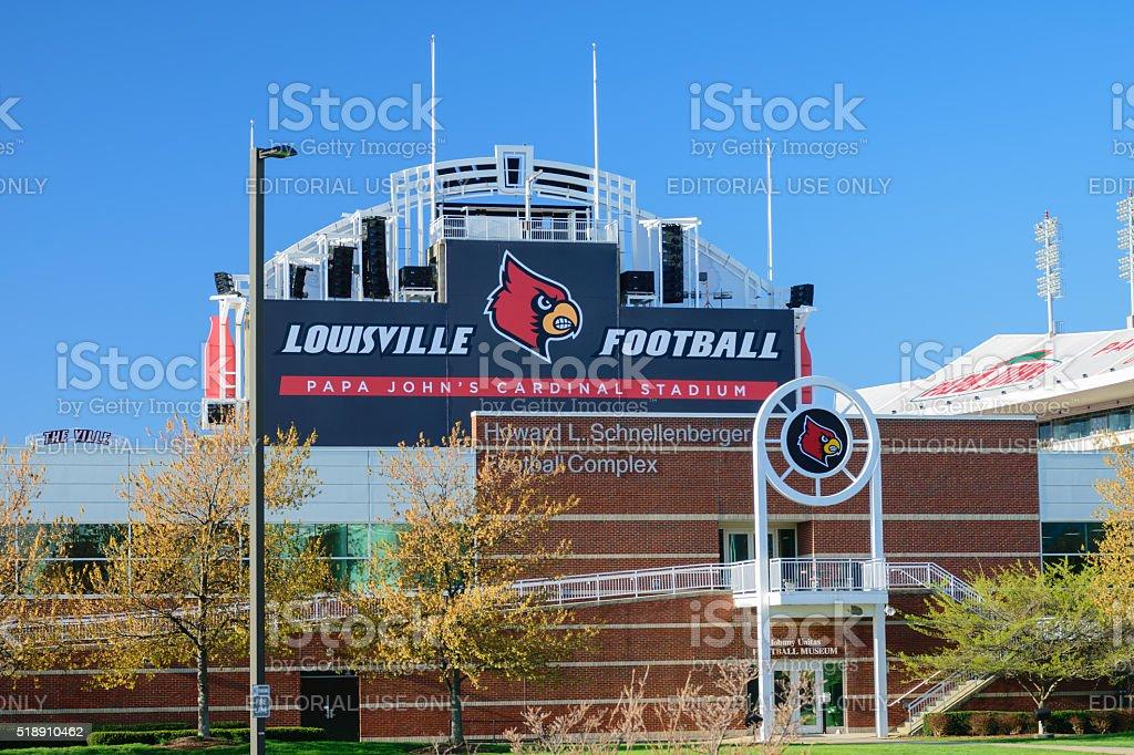UofL football stadium stock photo